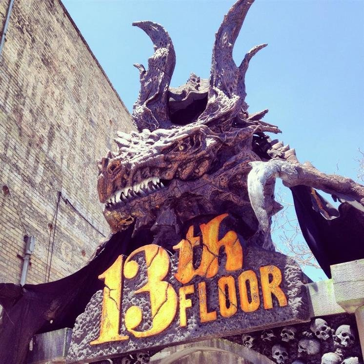 13th Floor Haunted House Chicago In Melrose Park IL   Chicago Haunted Houses