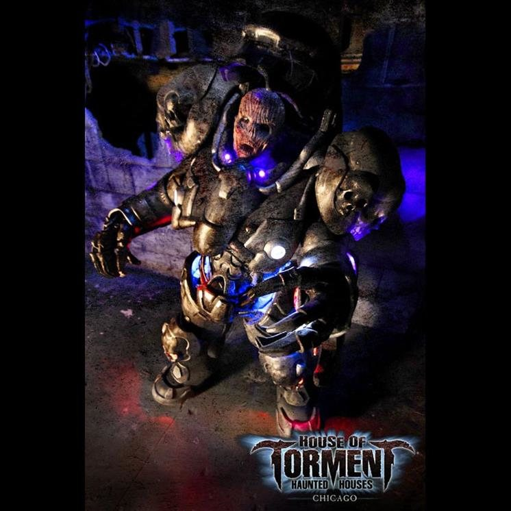 Cheap Haunted Houses Chicago Il: House Of Torment In Morton Grove IL
